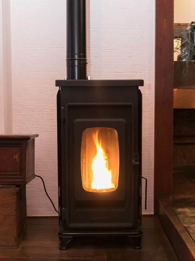 Pellet wood stove by SAIKAI