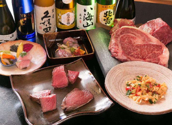 Niigata Japanese Beef Variety Plate