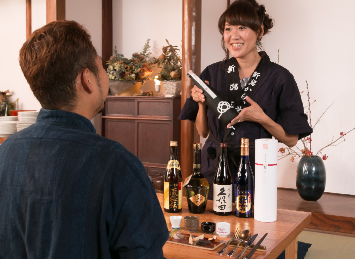 Special Lecture on Sake Pairing